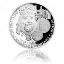 2016 - Stříbrná mince 100 NZD Karel IV. - 1 kg