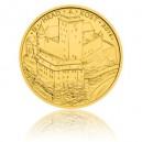Hrad Kost - zlatá mince z cyklu Hrady České republiky - běžná kvalita - Standard - emise květen 2016