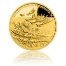 2016 - Zlatá mince 5 NZD Potopení Bismarcku - Proof