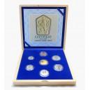 Sada oběžných mincí ČSSR 1963 - soubor replik
