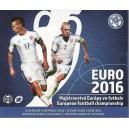 Sada oběžných mincí Slovenské republiky 2016 - EURO 2016