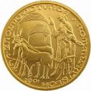 Zlatá mince Románský sloh - rotunda ve Znojmě, Proof