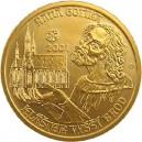 Zlatá mince Raná gotika - kláštěr ve Vyšším Brodě, Proof