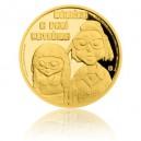 2016 - Zlatá mince 5 NZD Mánička a paní Kateřina