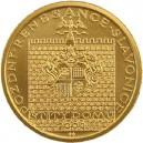 Zlatá mince Pozdní renesance - štíty domů ve Slavonicích, Proof