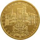 Zlatá mince Novogotika - zámek Hluboká, Proof
