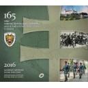 Sada oběžných mincí Slovenské republiky 2016 - 165 let Finanční správy