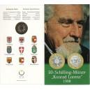 Rakousko - 50 Schilling - Konrad Lorenz - 25 let od udělení Nobelovy ceny, rok 1998