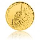 Hrad Bezděz - zlatá mince z cyklu Hrady České republiky - běžná kvalita - Standard - emise říjen 2016 - orientační cena