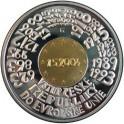 2004 - Pamětní bimetalová mince Vstup České republiky do EU, Proof