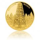 2016 - Zlatá medaile Rozhledna Boubín - Au 1/4 Oz