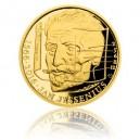 2016 - Zlatá medaile Jan Jesenius - číslováno - Au 1/2 Oz