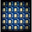 Multigram - 25 x investiční zlatý slitek 1g - PAMP