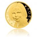 2016 - Zlatá medaile Hana Zagorová - číslováno - Au 1 Oz