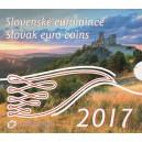 Sada oběžných mincí Slovenské republiky 2017 - Soubor slovenských euromincí