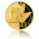 2017 - Zlatá mince 10 NZD Reformy Marie Terezie - hospodářská - Proof