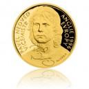 2017 - Zlatá mince 10 NZD Pavel Nedvěd - Au 1/4 Oz