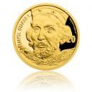 2017 - Zlatá medaile s motivem 20 Kč bankovky - Přemysl Otakar I.