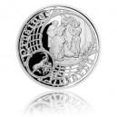 2016 - Stříbrná medaile Staroměstský orloj - Kozoroh
