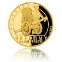 2017 - Zlatá mince 10 NZD Reformy Marie Terezie - vojenská - Proof