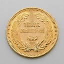 Zlatá mince Turecko 100 Piastr/Kurush 1923/1970