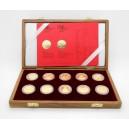 2006-2010 - Sada deseti zlatých mincí Technické památky kulturního dědictví, Proof