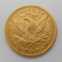 Zlatá mince USA 10 Dollars 1879