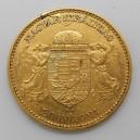 Zlatá mince Rakousko-Uhersko 20 Koruna 1901 KB