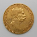 Zlatá mince Rakousko-Uhersko 10 Koruna 1908 - jubilejní