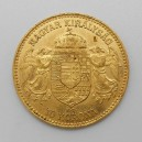 Zlatá mince Rakousko-Uhersko 10 Koruna 1911 KB