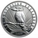 Stříbrná investiční mince Kookaburra 2009 - 1 Oz