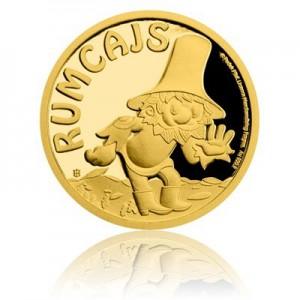 2017 - Zlatá mince 5 NZD Rumcajs