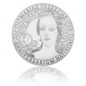 Stříbrná mince 100 NZD Marie Terezie 1 kg - Standard