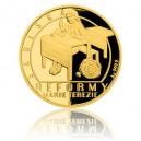 2017 - Sada 4 zlatých mincí 10 NZD Reformy Marie Terezie - Proof