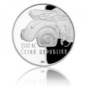 Stříbrná mince Operace Anthropoid - Proof