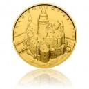 Hrad Bouzov - zlatá mince z cyklu Hrady České republiky - běžná kvalita - Standard