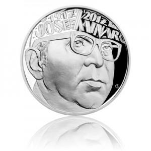 Stříbrná mince Josef Kainar - Proof