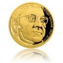 2017 - Zlatá medaile Josef Kainar - číslováno - Au 1/2 Oz