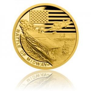 2017 - Zlatá mince 5 NZD Bitva u Midway