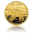 2015 - Zlatá mince 5 NZD Bob a Bobek - Proof