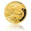 2015 - Zlatá mince 5 NZD 50 let výročí Večerníčka - Proof