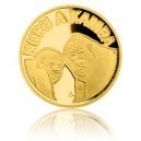 2015 - Zlatá mince 5 NZD Gorilí povídání - Proof