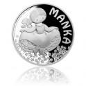 2017 - Stříbrná mince 1 NZD Manka