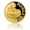 2017 - Zlatá mince 5 NZD Manka