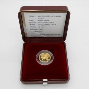 2004 - Zlatý Jednodukát České republiky, Au 1/10 Oz