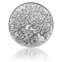Stříbrná mince Bitva u Zborova - Standard