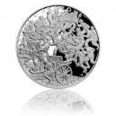 Stříbrná mince Bitva u Zborova - Proof