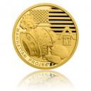 2017 - Zlatá mince 5 NZD Projekt Manhattan