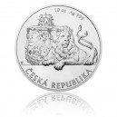 2017 - Stříbrná mince 25 NZD Česká státnost - 10 Oz