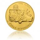 2017 - Zlatá mince 8000 NZD Česká státnost - 10 Oz